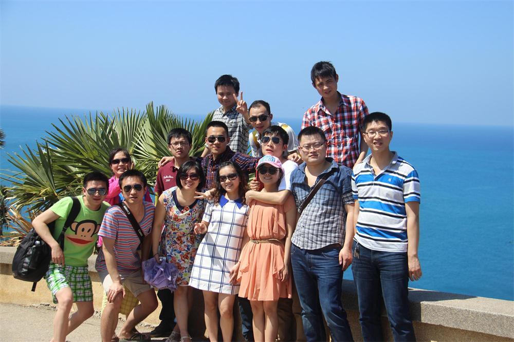 2014年第一批团队旅游